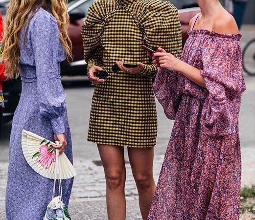 Платья с пышными рукавами 2020 — тренд сезона