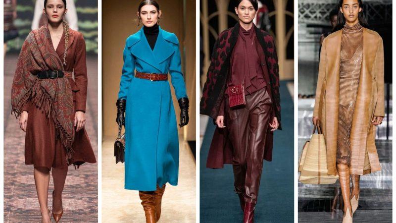 Тренды осень-зима 2020/2021: модная цветовая палитра