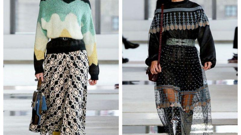 С чем носить юбку: тренды сезона осень-зима 2020