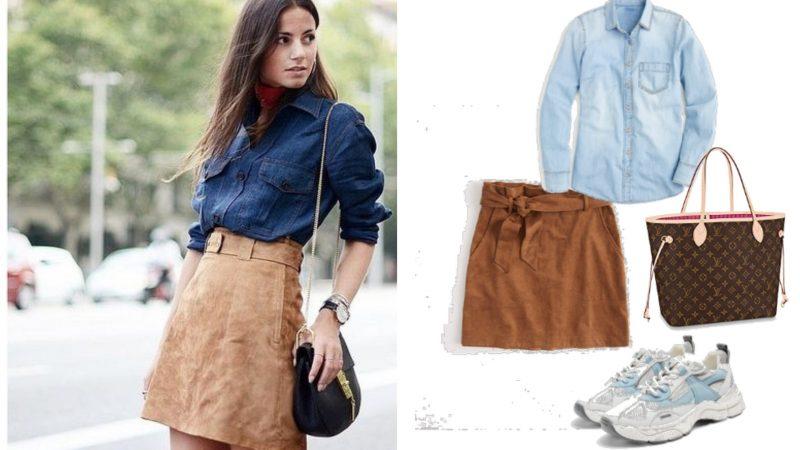 Замшевые юбки 2020: как выбрать и с чем носить
