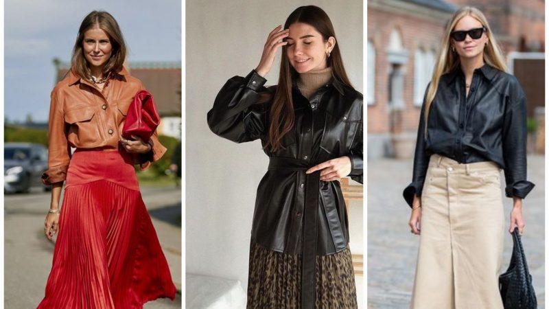 С чем носить кожаную рубашку: топ стильных вариантов