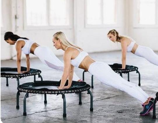 Джампинг фитнес: худеем весело и быстро