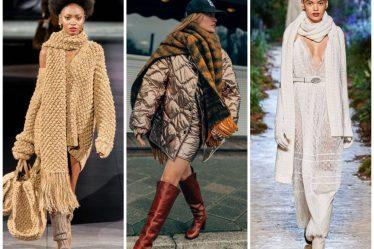 модные шарфы 2020
