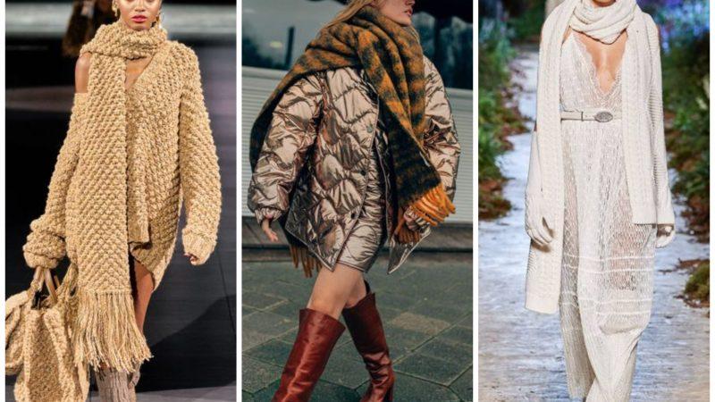 Модные шарфы 2020/2021: какой выбрать в этом сезоне