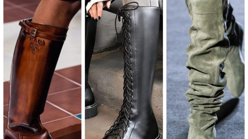Тренды 2020/2021: с чем носить сапоги